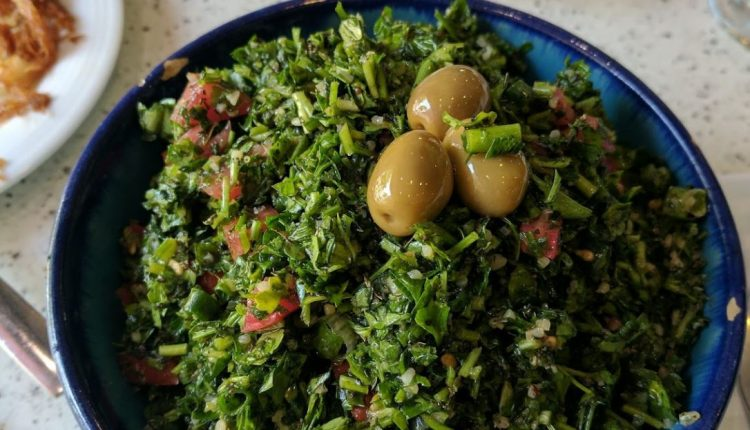 Real Lebanese food in Iran