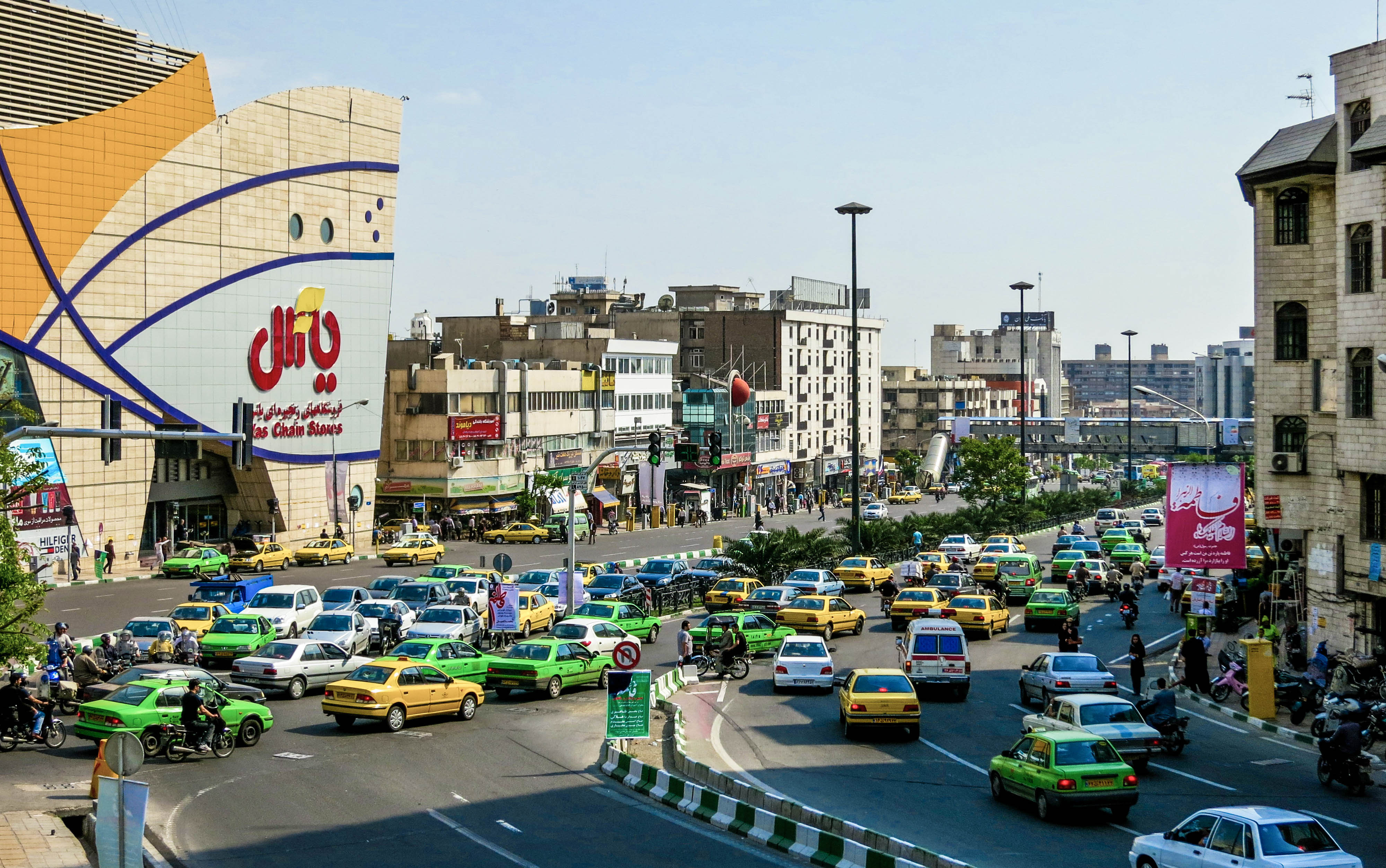 Tehran Traffic to be reduced with new scheme