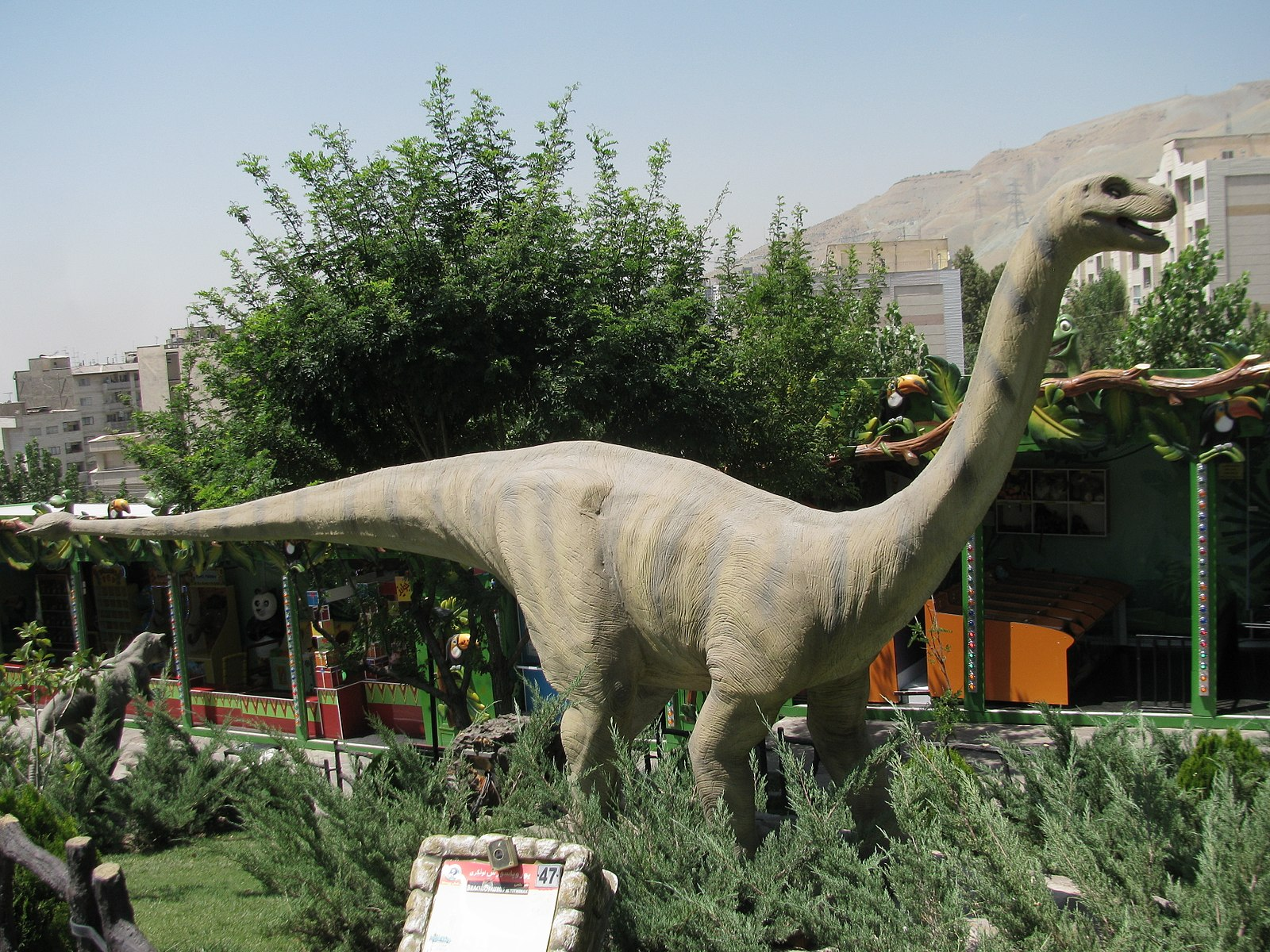 Tehran's Jurassic Park