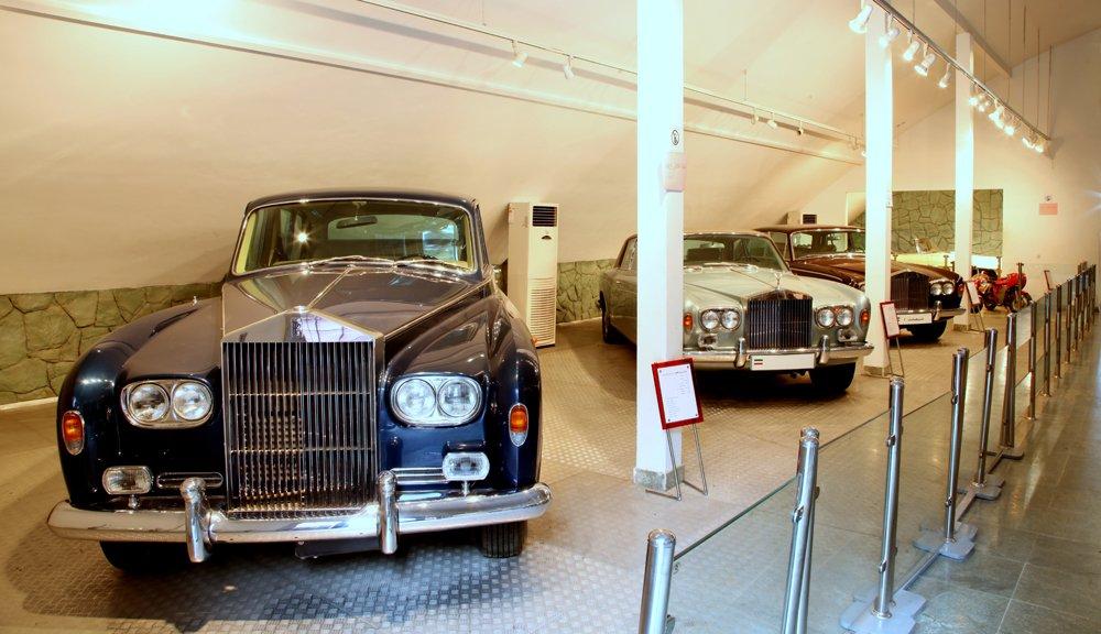 Royal Cars at Sa'adabad Palace