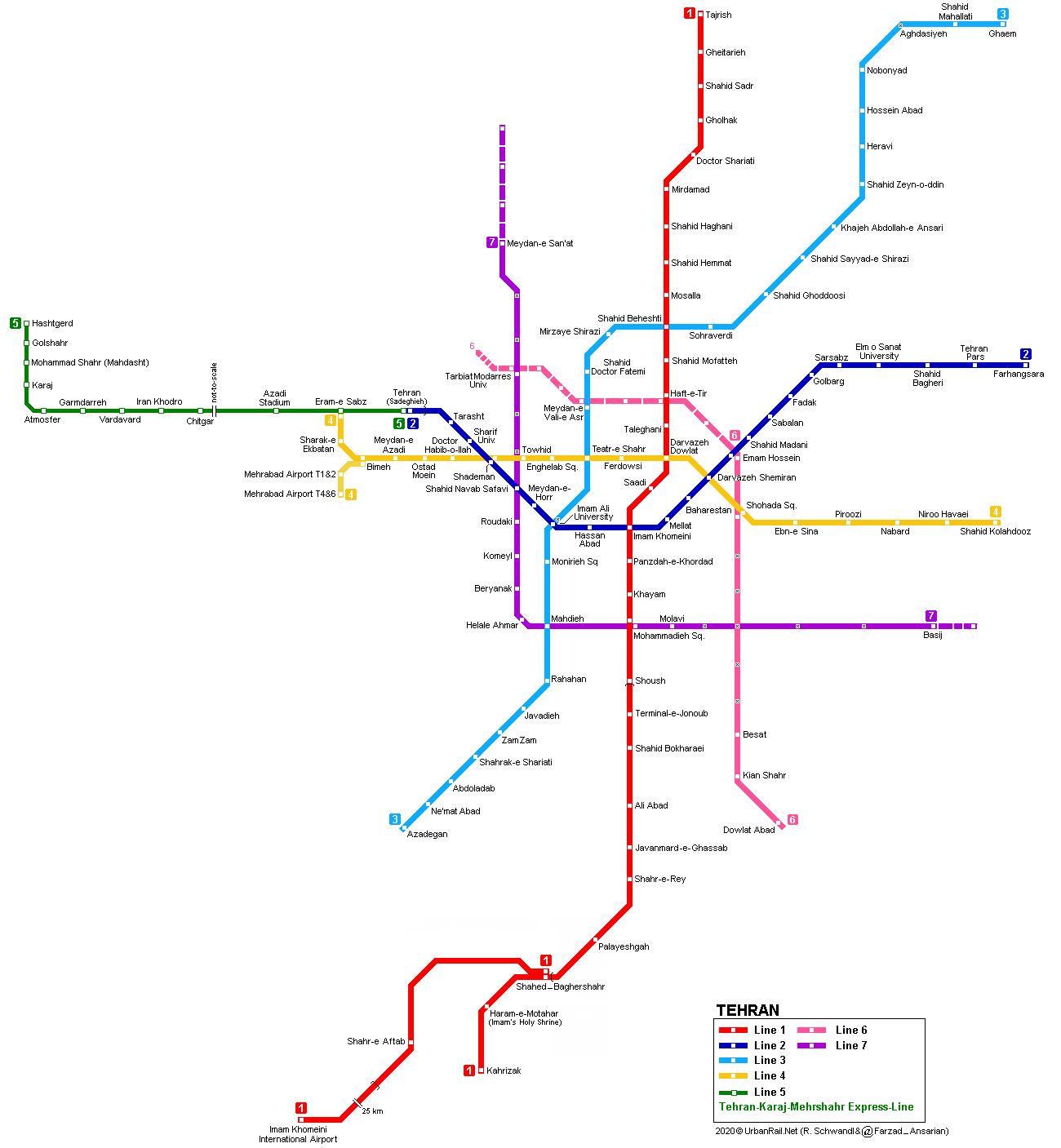tehran-metro-map